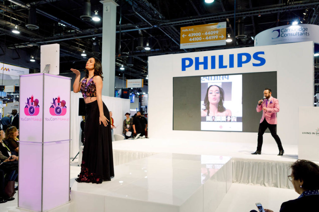 YouCam Makeup Fashion Show, Fashion Show, Corporate Photo, Photo Editing, Post-Production, Recap, Adobe Premiere, Editing, Photographer, Photographers in Las Vegas, professional Photography, product demo, live demo, demonstration, Las Vegas Video Production, Las Vegas Convention Center, Video Production Las Vegas, Las Vegas, Nevada, Video Production set up, Sands Expo, Living In Digital Times, CES, Convention, Conference, Marketing, Promotional Material, engage, interviews, demos, showfloor, booths, attendees, exhibitors, Beauty Tech, Beauty Tech Summit, Video Production, Corporate Video, Video Editing, Post-Production, Recap, Adobe Premiere, Editing, Best Published Las Vegas Videographer, Videographer, Videographers in Las Vegas, Video production crew, Camera operators, Videography, professional Videography,