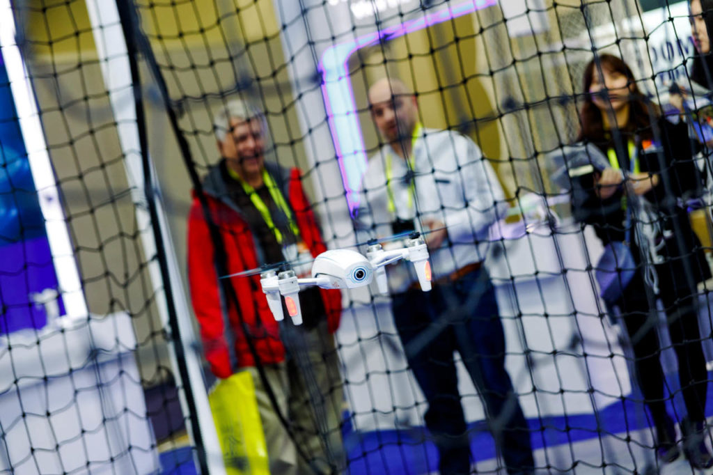 Drone demo, drone, exhibitors demo, demonstrations, Video Production, Corporate Video, Video Editing, Post-Production, Recap, Adobe Premiere, Editing, Best Published Las Vegas Videographer, Videographer, Videographers in Las Vegas, Video production crew, Camera operators, Videography, professional Videography, High Tech Retailing, Living In Digital Times, CES, Convention, Conference, Marketing, Promotional Material, engage, interviews, demos, show floor, booths, attendees, exhibitors, CES 2017, 2017, Corporate Photo, Photo Editing, Post-Production, Recap, Adobe Premiere, Editing, Photographer, Photographers in Las Vegas, professional Photography, Sands Expo