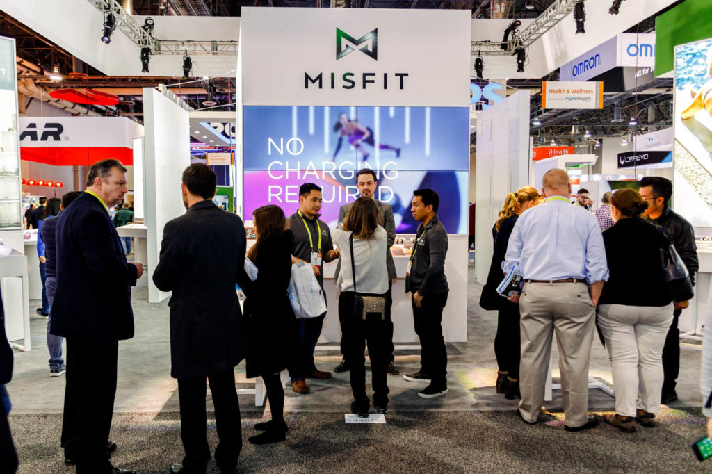 MISFIT Booth, MISFIT, Video Production, Corporate Video, Video Editing, Post-Production, Recap, Adobe Premiere, Editing, Best Published Las Vegas Videographer, Videographer, Videographers in Las Vegas, Video production crew, Camera operators, Videography, professional Videography, High Tech Retailing, Living In Digital Times, CES, Convention, Conference, Marketing, Promotional Material, engage, interviews, demos, showfloor, booths, attendees, exhibitors, Sands Expo, Corporate Photo, Photo Editing, Post-Production, Recap, Adobe Premiere, Editing, Photographer, Photographers in Las Vegas, professional Photography,