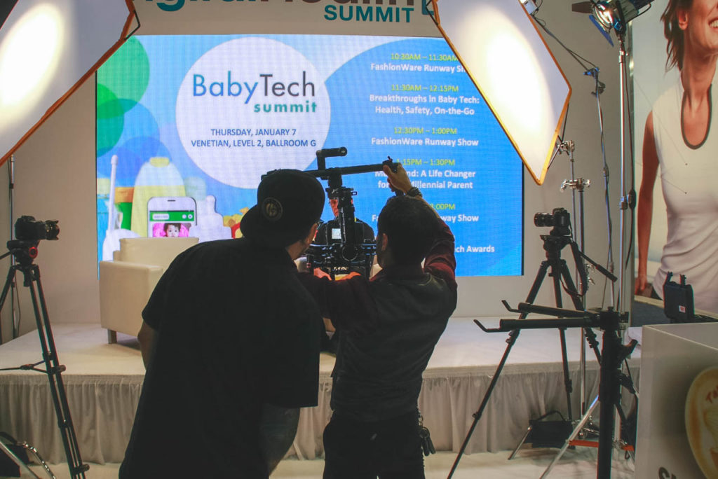 Video Production, Corporate Video, Video Editing, Post-Production, Recap, Adobe Premiere, Editing, Best Published Las Vegas Videographer, Videographer, Videographers in Las Vegas, Video production crew, Camera operators, Videography, professional Videography, Baby Tech, Baby, Baby Tech Summit, Living In Digital Times, CES, CES 2016, 2016, Convention, Conference, Marketing, Promotional Material, engage, interviews, demos, Las Vegas Video Production, Las Vegas Convention Center, Video Production Las Vegas, Las Vegas, Nevada, Video Production set up