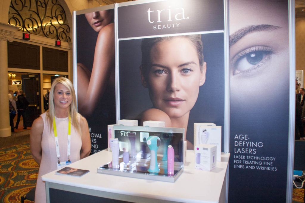 Tria Beauty booth, Tria Beauty, Corporate Photo, Photo Editing, Post-Production, Recap, Adobe Premiere, Editing, Photographer, Photographers in Las Vegas, professional Photography, Living In Digital Times, CES, CES 2016, 2016, Convention, Conference, Marketing, Promotional Material, engage, interviews, demos, Las Vegas Video Production, Las Vegas Convention Center, Video Production Las Vegas, Las Vegas, Nevada, exhibitors