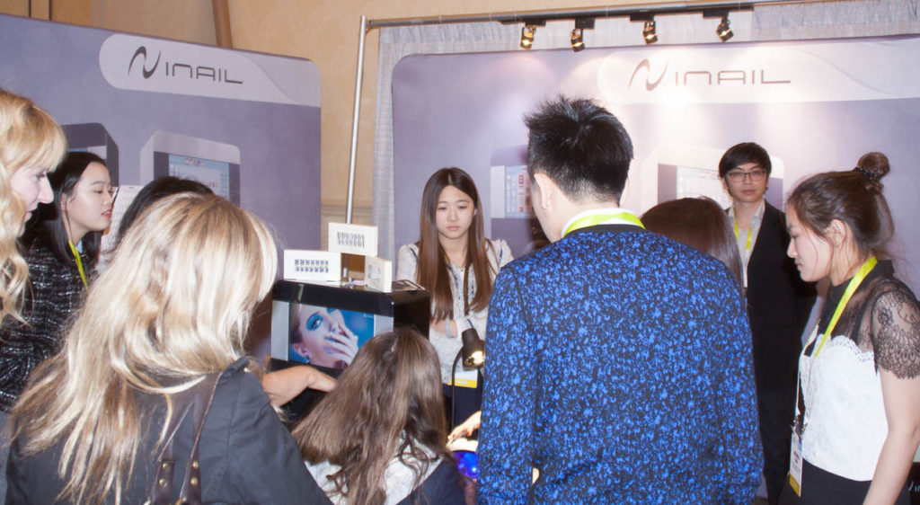 iNail Booth, iNail, iNail Demonstration, Corporate Photo, Photo Editing, Post-Production, Recap, Adobe Premiere, Editing, Photographer, Photographers in Las Vegas, professional Photography, Living In Digital Times, CES, CES 2016, 2016, Convention, Conference, Marketing, Promotional Material, engage, interviews, demos, Las Vegas Video Production, Las Vegas Convention Center, Video Production Las Vegas, Las Vegas, Nevada, product demonstraion,
