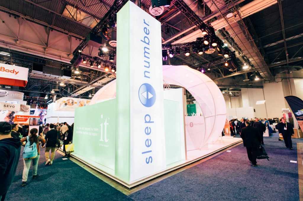 Sleep Number, Sleep Number Booth, Living In Digital Times, CES, CES 2016, 2016, Convention, Conference, Marketing, Promotional Material, engage, interviews, demos, Las Vegas Video Production, Las Vegas Convention Center, Video Production Las Vegas, Las Vegas, Nevada, Corporate Photo, Photo Editing, Post-Production, Recap, Adobe Premiere, Editing, Photographer, Photographers in Las Vegas, professional Photography