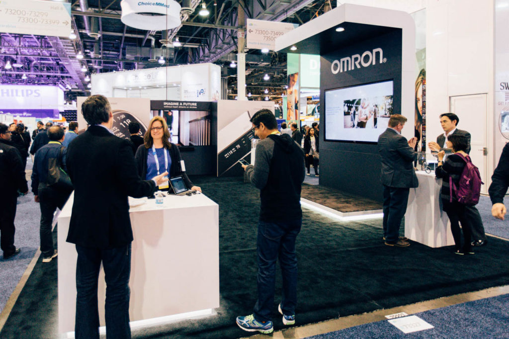 OMRON, OMRON booth, OMRON products, Corporate Photo, Photo Editing, Post-Production, Recap, Adobe Premiere, Editing, Photographer, Photographers in Las Vegas, professional Photography, Living In Digital Times, CES, CES 2016, 2016, Convention, Conference, Marketing, Promotional Material, engage, interviews, demos, Las Vegas Video Production, Las Vegas Convention Center, Video Production Las Vegas, Las Vegas, Nevada, OMRON product displays