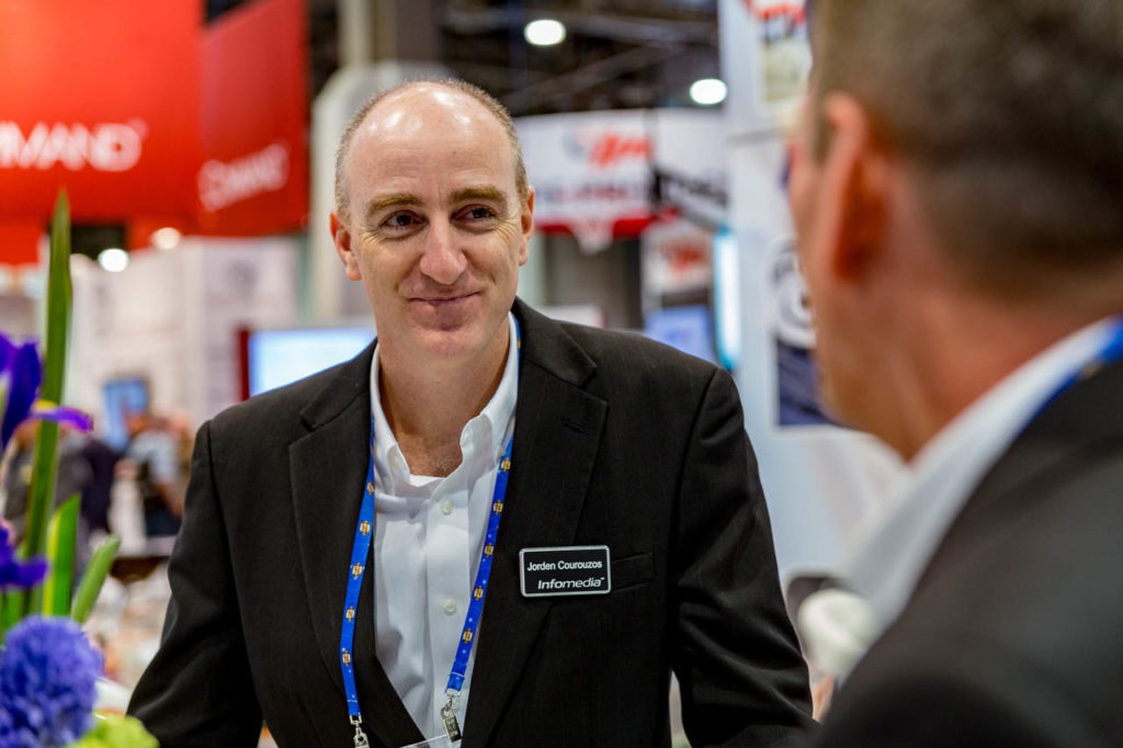 Promotional Material, engage, interviews, demos, showfloor, booths, attendees, exhibitors, Corporate Photo, Photo Editing, Post-Production, Recap, Adobe Premiere, Editing, Photographer, Photographers in Las Vegas, professional Photography, product demo, live demo, demonstration, NADA, NADA Convention, NMR Events, Infomedia