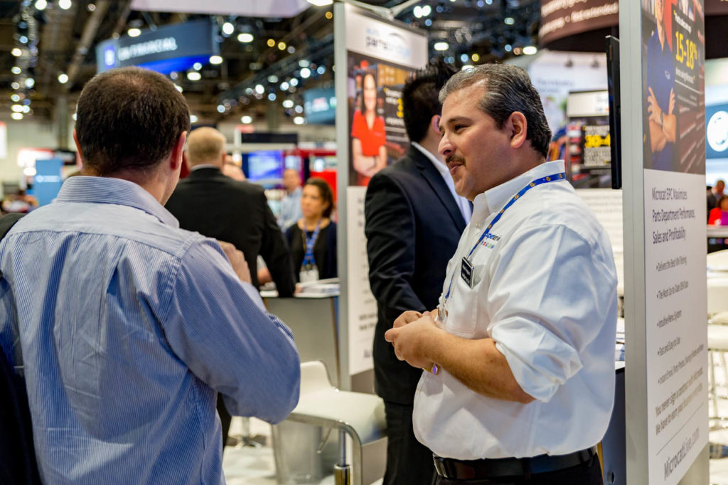 Interaction, interact, Promotional Material, engage, interviews, demos, showfloor, booths, attendees, exhibitors, Corporate Photo, Photo Editing, Post-Production, Recap, Adobe Premiere, Editing, Photographer, Photographers in Las Vegas, professional Photography, product demo, live demo, demonstration, NADA, NADA Convention, NMR Events, Infomedia