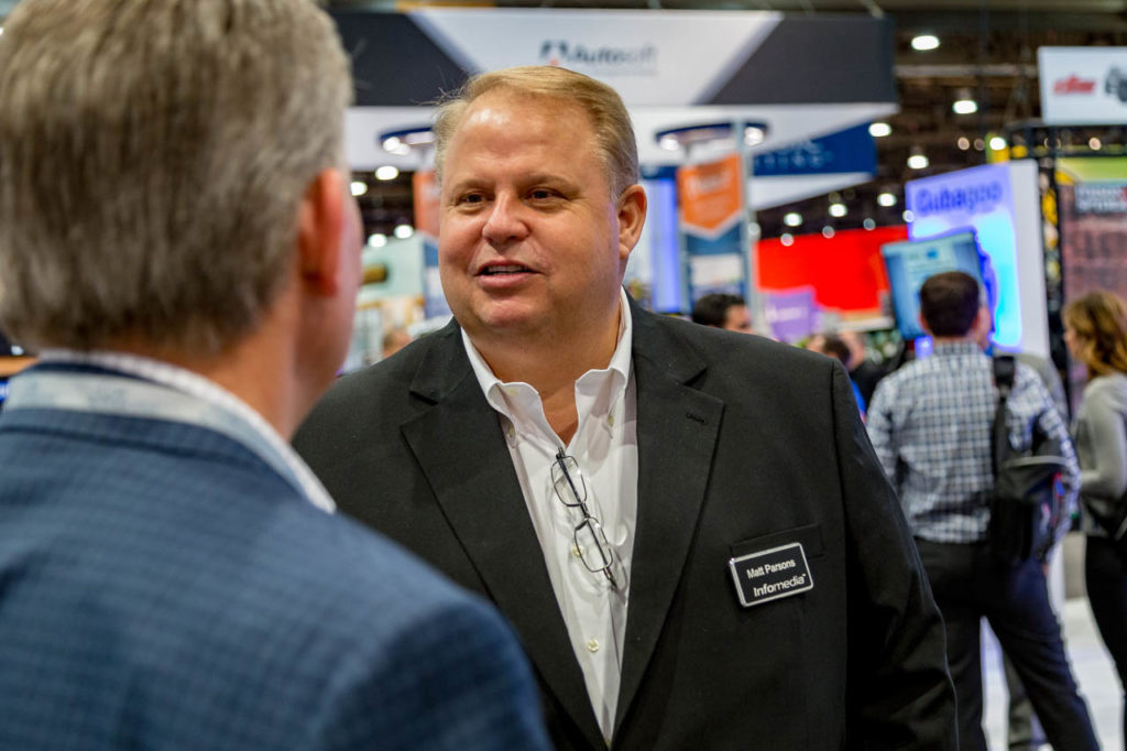 Matt Parsons, Promotional Material, engage, interviews, demos, showfloor, booths, attendees, exhibitors, Corporate Photo, Photo Editing, Post-Production, Recap, Adobe Premiere, Editing, Photographer, Photographers in Las Vegas, professional Photography, product demo, live demo, demonstration, NADA, NADA Convention, NMR Events, Infomedia